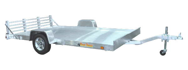 Flatbed All Aluminum Utility Trailer For Sale
