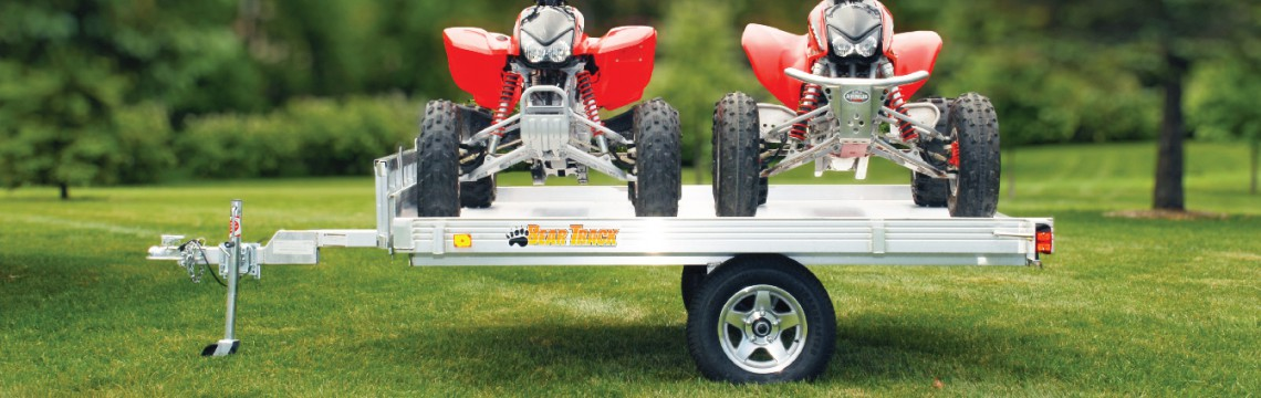Bear Track ATV trailer for sale
