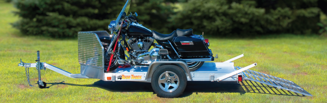 featherlite aluminum motorcycle trailer