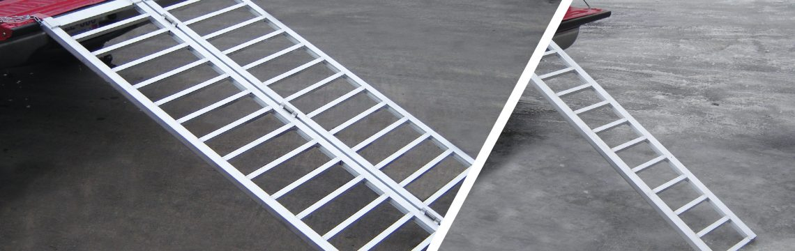 ATV motorcycle snowmobile trailer ramps for sale