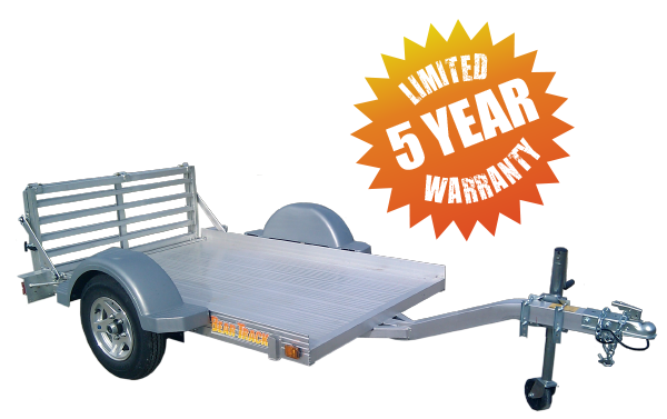 A Warranty as Strong as the Trailer - Limited 5 Year Warranty
