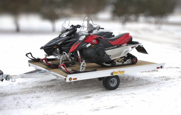 Bear Track Aluminum Snowmobile Trailer