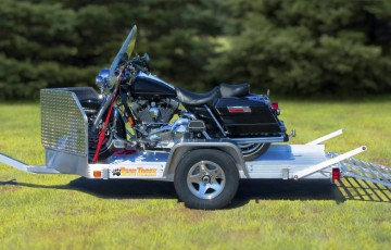Aluminum Motorcycle Trailer