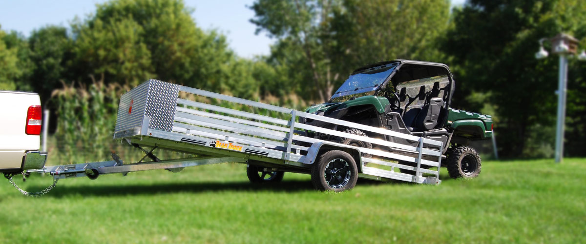 Tough atv golf cart trailer for sale