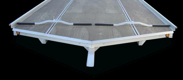Marine grade snowmobile trailer board