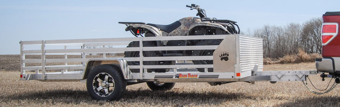 Aluminum Tilt Utility Trailer For Sale